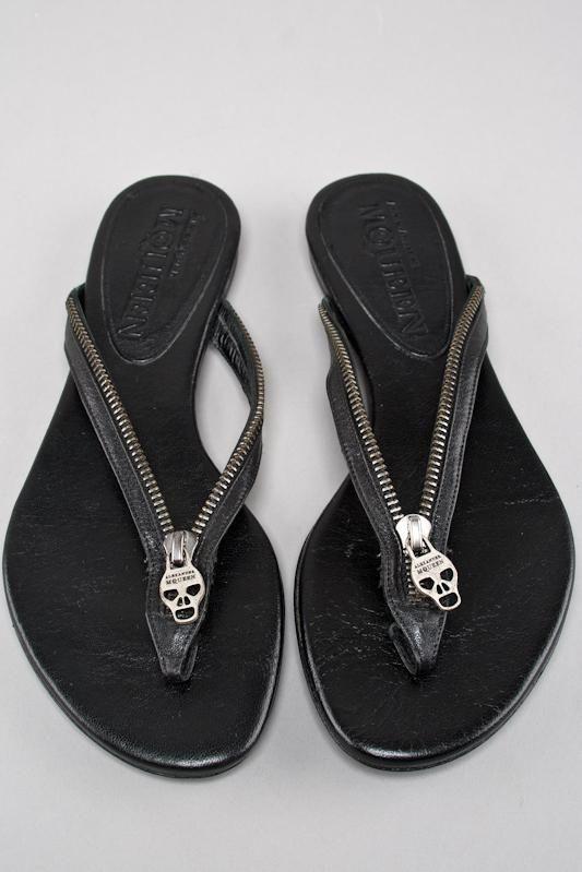 Alexandre McQueen,cráneo decorado,cuero,zapatos decorado