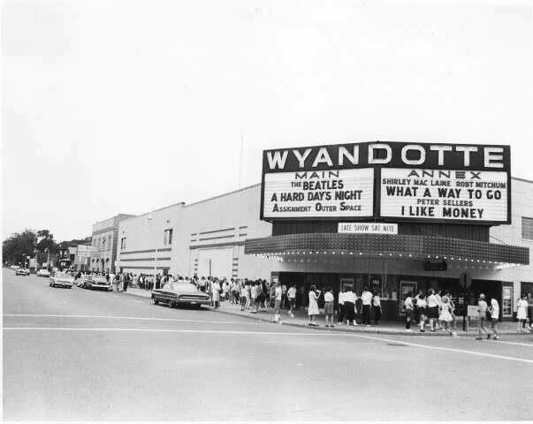 Old Wyandotte Theater Wyandotte Wyandotte Michigan Grosse Ile