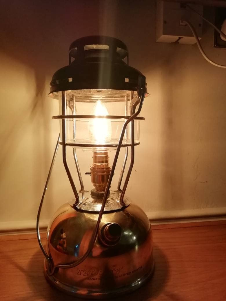 Converted Electric Tilley Lamp Paraffin Pressure Light