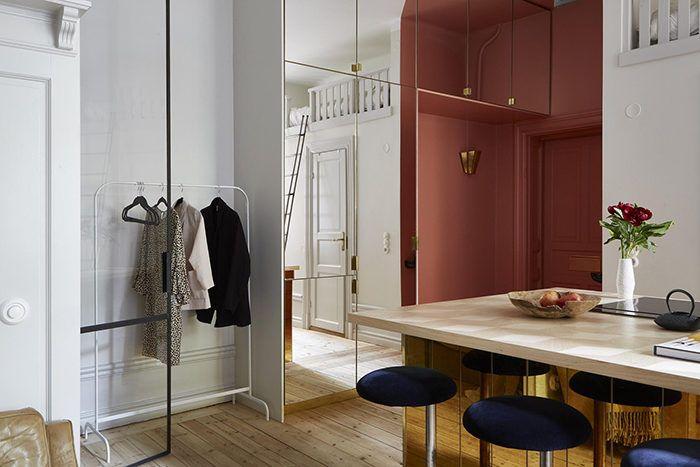 Stilsäker sekelskiftesdröm – med 11 snygga compact living-detaljer #compactliving