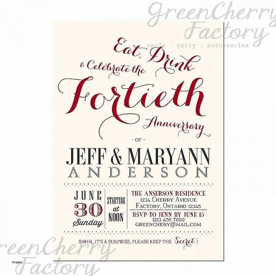 25th Wedding Anniversary Invitations 25th Wedding