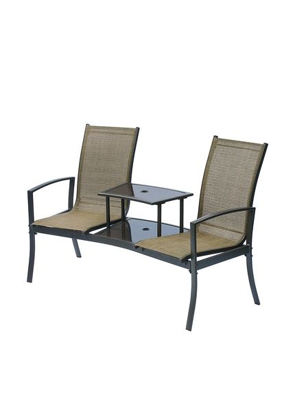 Suntime Havana Duo Seat, Bronze,   wwwmyhabit/redirect/ref - gartenmobel set alu 5 teilig