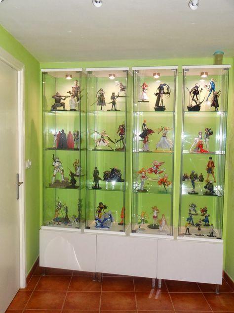 Vitrina Expositora De Figuras Anime Piratas De Ikea