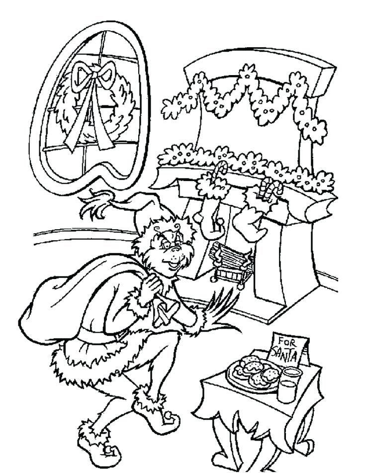 Cindy Lou Who Grinch Coloring Pages Page The Free ...