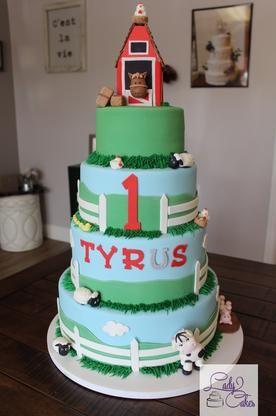 farm cakes farm birthday cakes 1st birthday cakes custom 1st