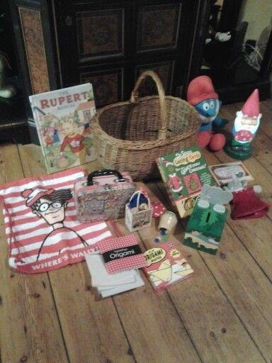 Kiddies Christmas basket