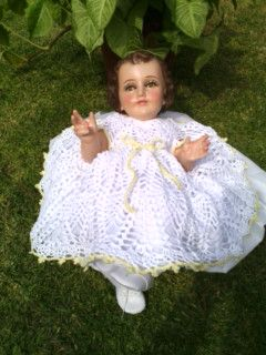 Crochet Vestido Niño Dios Ropones Para Niño Dios Niño