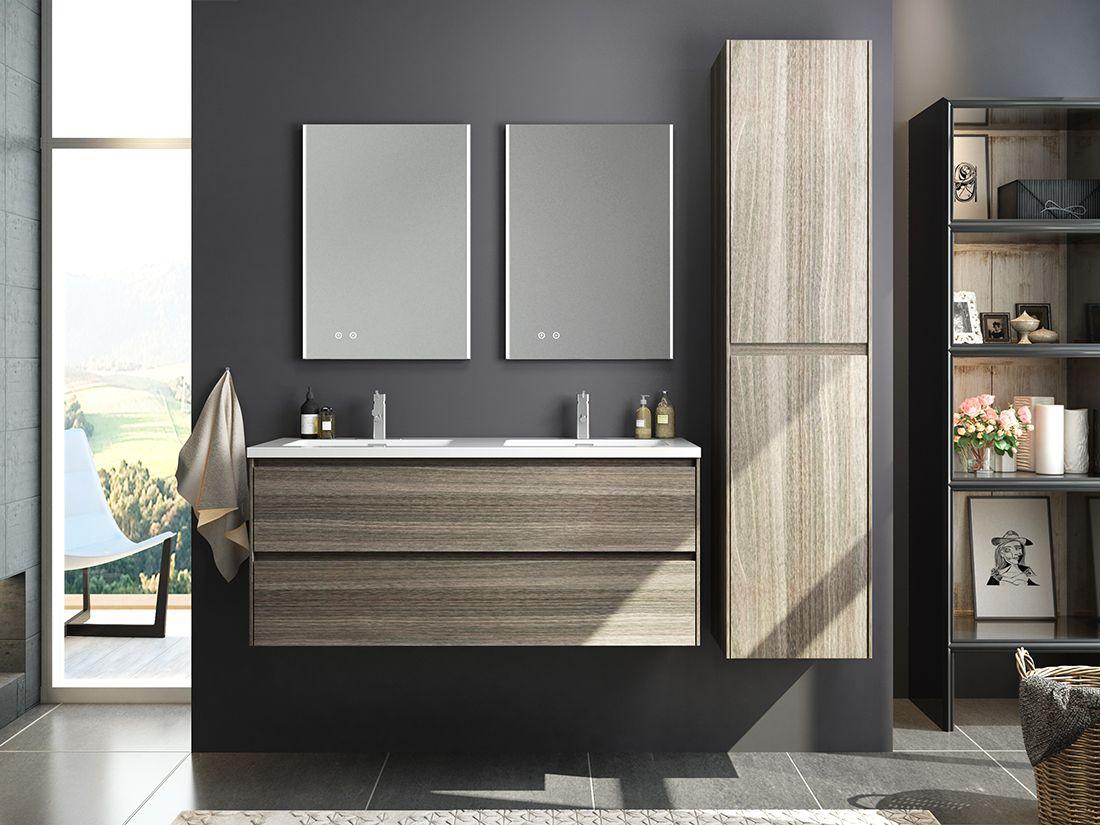 Die Badezimmerschranke Bestehen Aus Ahorn Esche Als Hauptfarbe