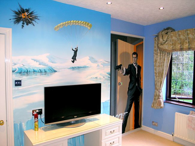 boy bedroom ideas google search - Cool Themes For Bedrooms