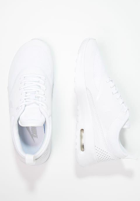 sneakers for cheap ba0e0 8469d Chaussures Nike Sportswear AIR MAX THEA - Baskets basses - white blanc   119,95 € chez Zalando (au 23 10 17). Livraison et retours gratuits et  service client ...