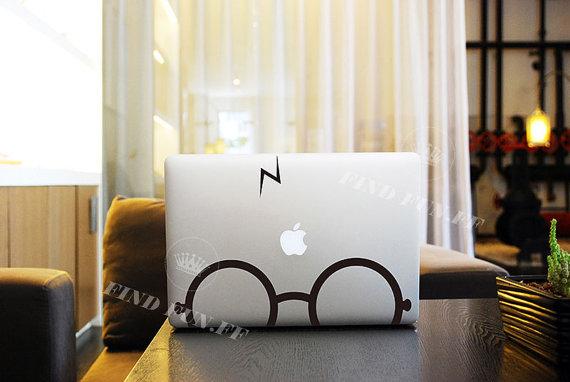 MacBook air etiqueta Macbook aire Calcomanía Calcomanía por FindFun