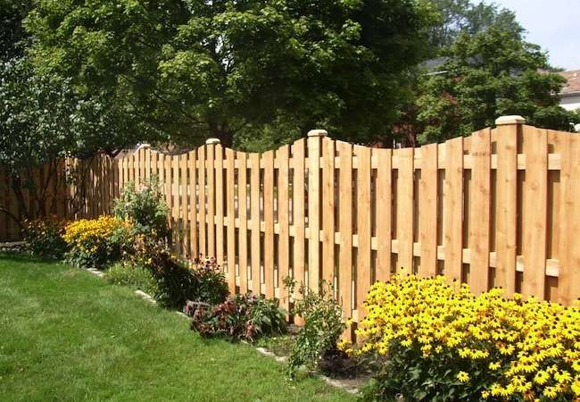 wood fencing can be crafted in so many ways and painted or stained any number of colors likely to last many years a wood fence costs less