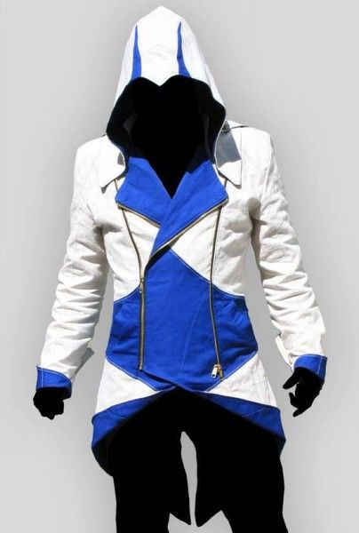 Blue And White Jacket - My Jacket