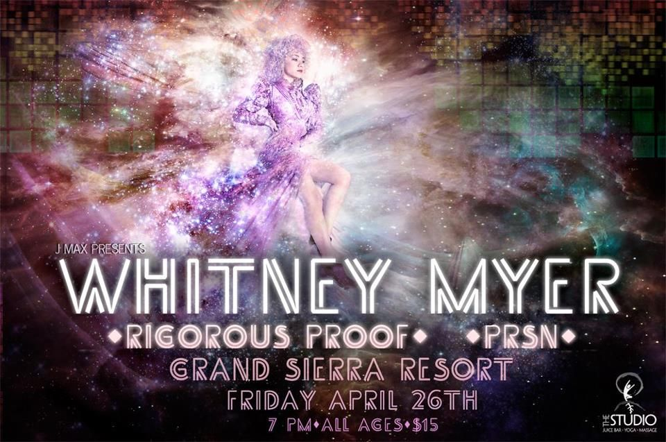 Whitney Myer's first solo show is coming up!  Be there or be square