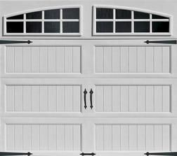 9 X 7 Stamped Steel From Menards 449 00 White Garage Doors Carriage House Garage Doors Garage Doors