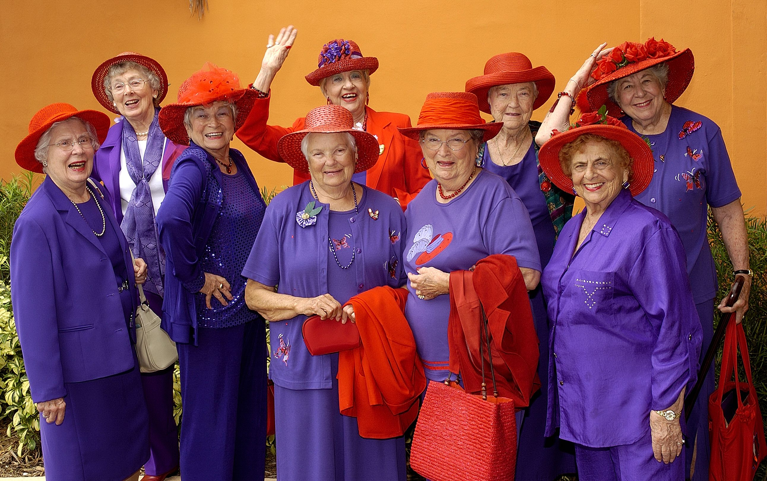 Red Hat Society - It s a classic. Red Hat Club c490ebc6a2b