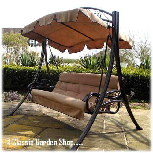 luxury rimini garden hammock swing seat 3 4 seater classi    https  luxury rimini garden hammock swing seat 3 4 seater classi    https      rh   pinterest