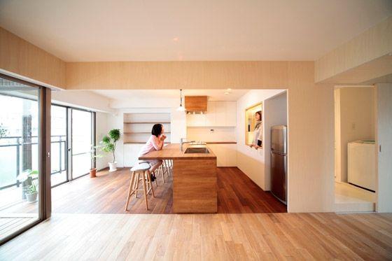 Kitchen Modern Japanese Kitchen Interior Designs Paris Loft With Greenhouse Kitchen  Design