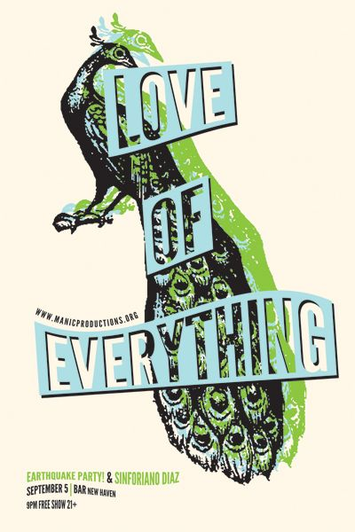 Love Of Everything - Earthquake Party - Sinforiano Diaz