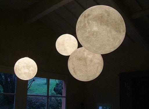 Moon lamps - Myös kuuvalaisin kuuteemaan had this in old house buzz aldrin habitat  lamps