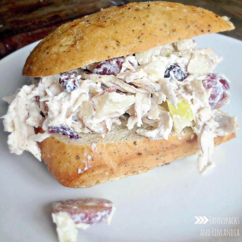 Healthy Chicken Salad Sandwich Hot chicken salads