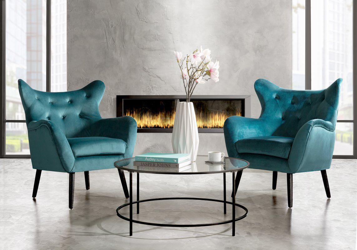 Willa Arlo Interiors Bouck Wingback Chair Reviews Wayfair Fancy Chair Fancy Living Rooms Modern Furniture Living Room