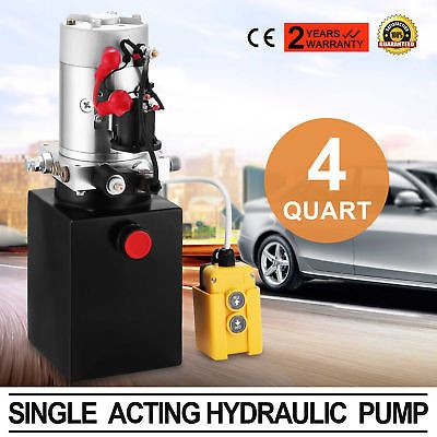 110V Car Lift Hydraulic Power Unit Auto Lifts Hydraulic Pump 2.64gal Automotive