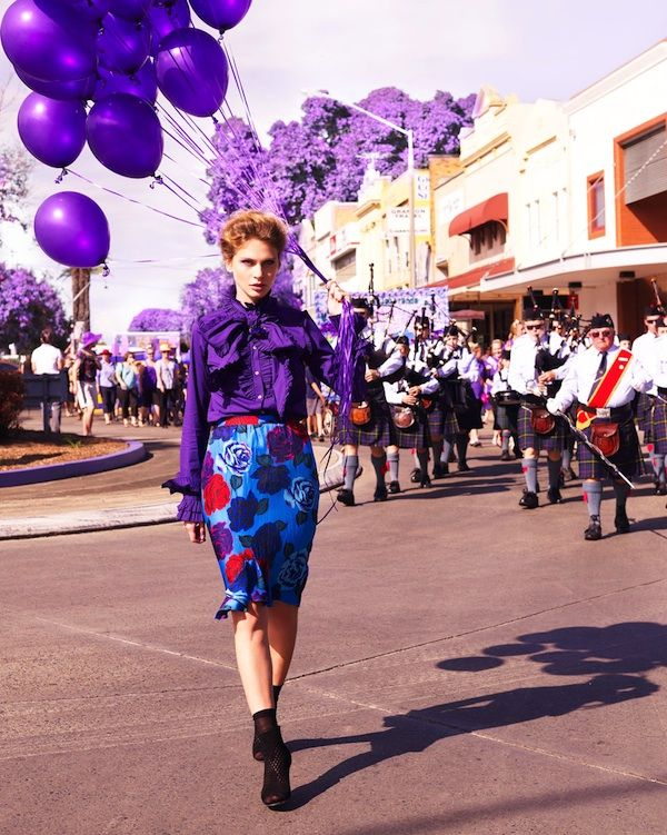 Trending Topic: Color me: Purple