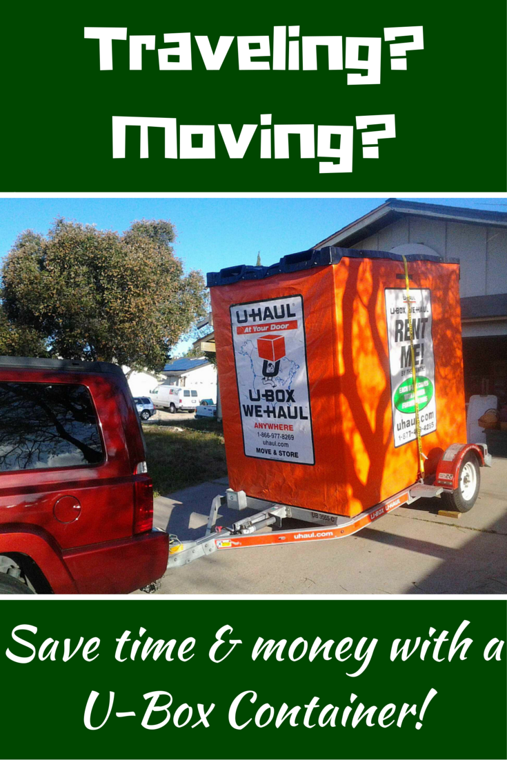 U haul moving containers