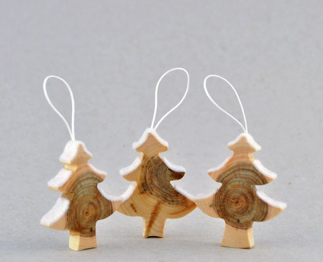 Wooden Christmas Decorations Produced From Juniper Tree Decor - wood christmas decorations