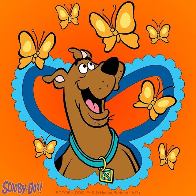 Scooby Found Some New Friends Scooby Scoobydoo Butterflies Happy Play Friends Scooby Doo Images Scooby Doo Pictures Scooby Doo Tattoo
