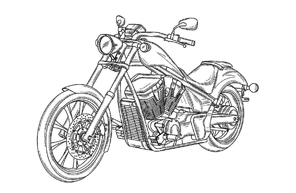 Resultado de imagem para desenho harley davidson | Animes e desenhos ...