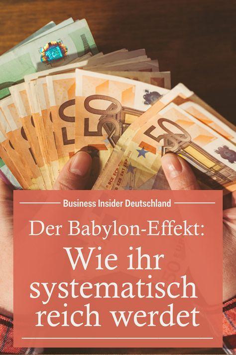 Reich Werden Mit Dem Babylon Effekt Wir Haben Fur Euch Die Wichtigsten Weisheiten Aus Dem Buch Der Reichste Mann Von Baby Reich Werden Reiche Manner Finanzen
