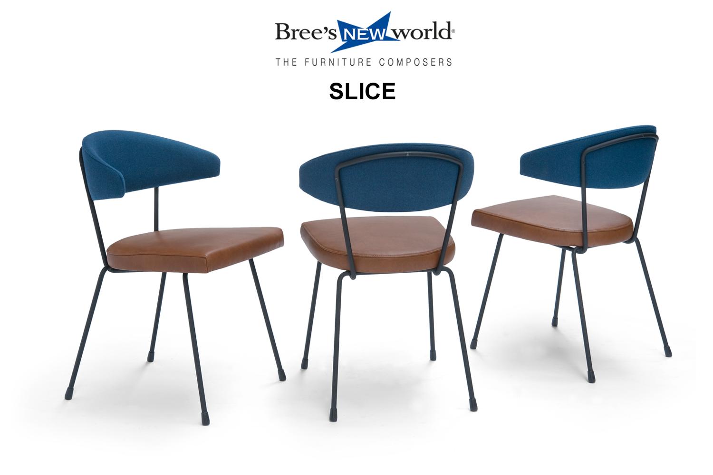 De splinternieuwe eetkamerstoel Slice van Bree's New World