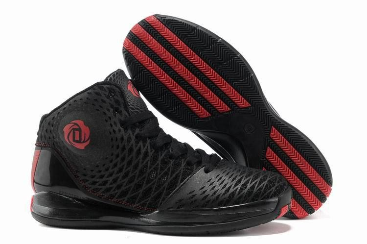Cheap Adidas #Rose 3.5 Derrick Rose Men All Black War Boots