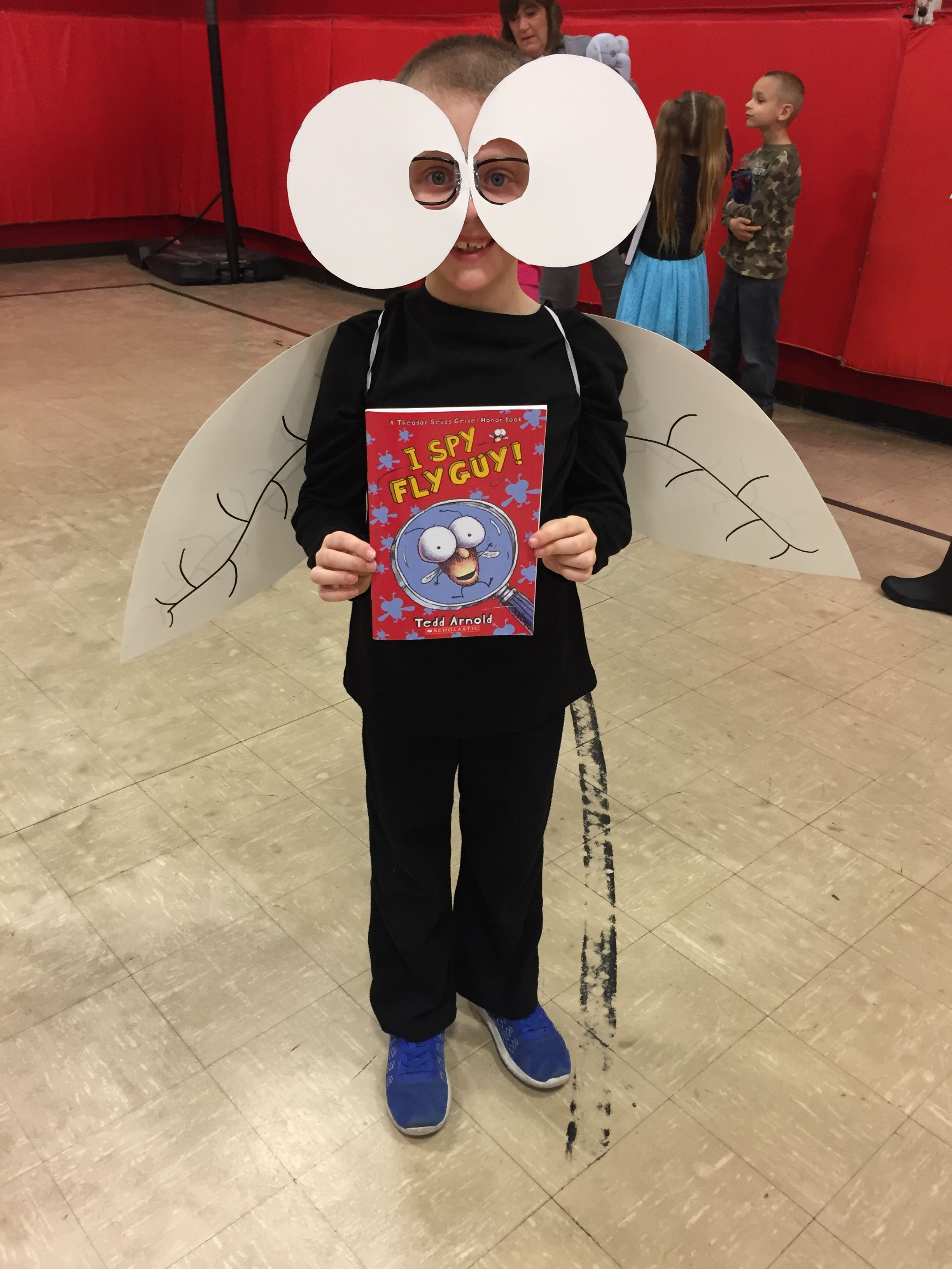 Fly Guy Costume We Made For My Sons Character Parade For
