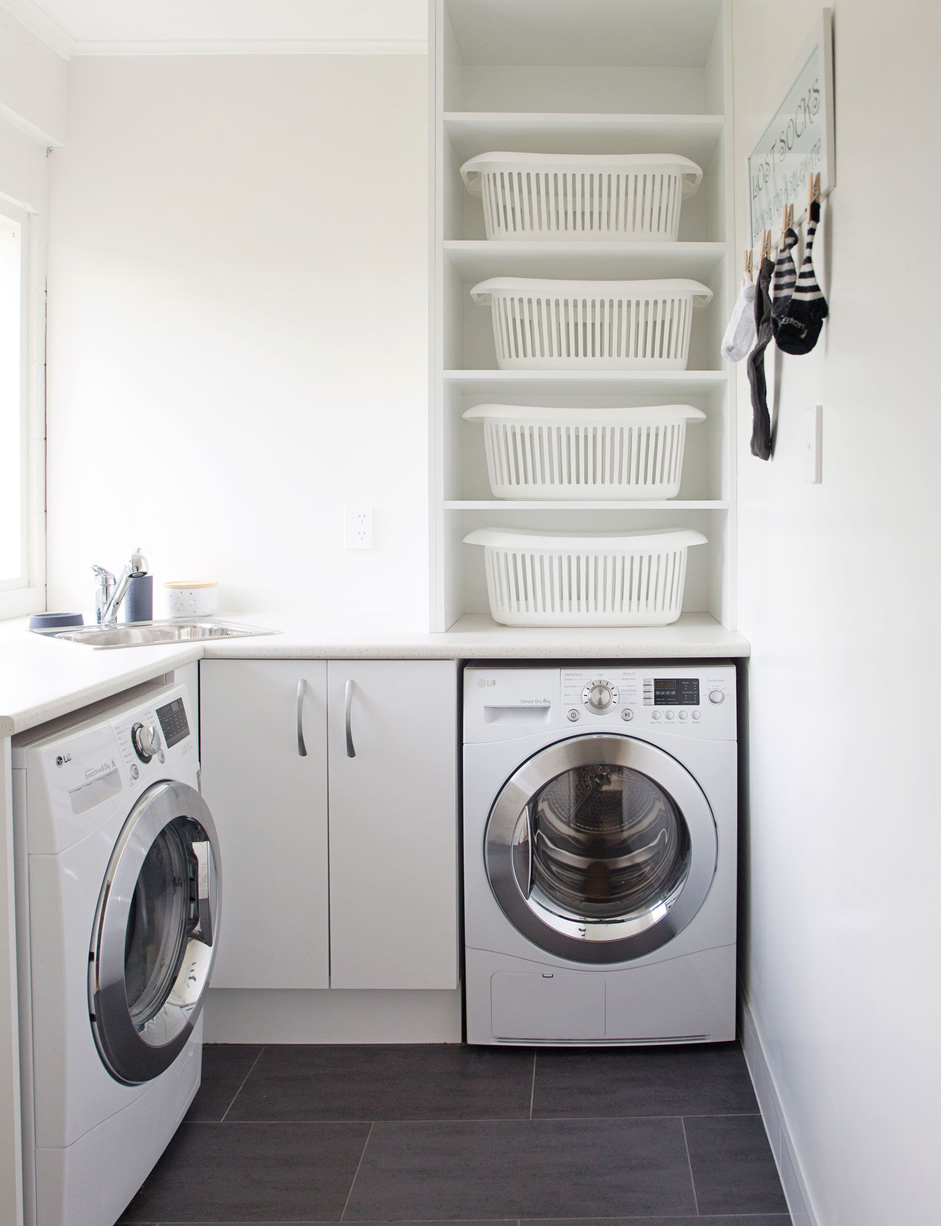 This Bright Laundry Room Has Loads Of Functional Style Laundry
