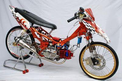 Modifikasi Motor Drag Jupiter