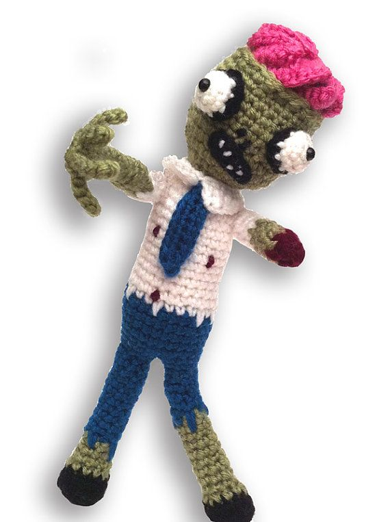 Zombie Amigurumi PDF Crochet Pattern | Crochet, Amigurumi and Ornament