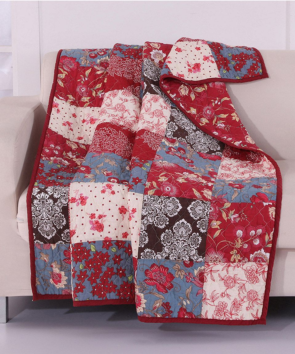Look what I found on #zulily! Nicole Throw by Greenland Home Fashions #zulilyfinds