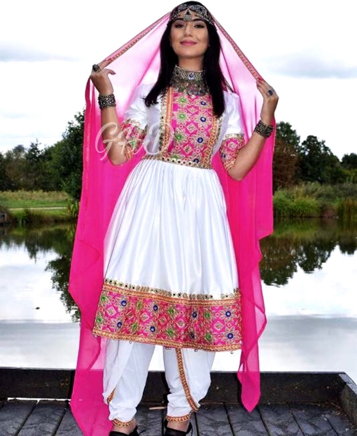 afghan #traditional #dress #style #jewelry | afghan/pashtun clothes ...