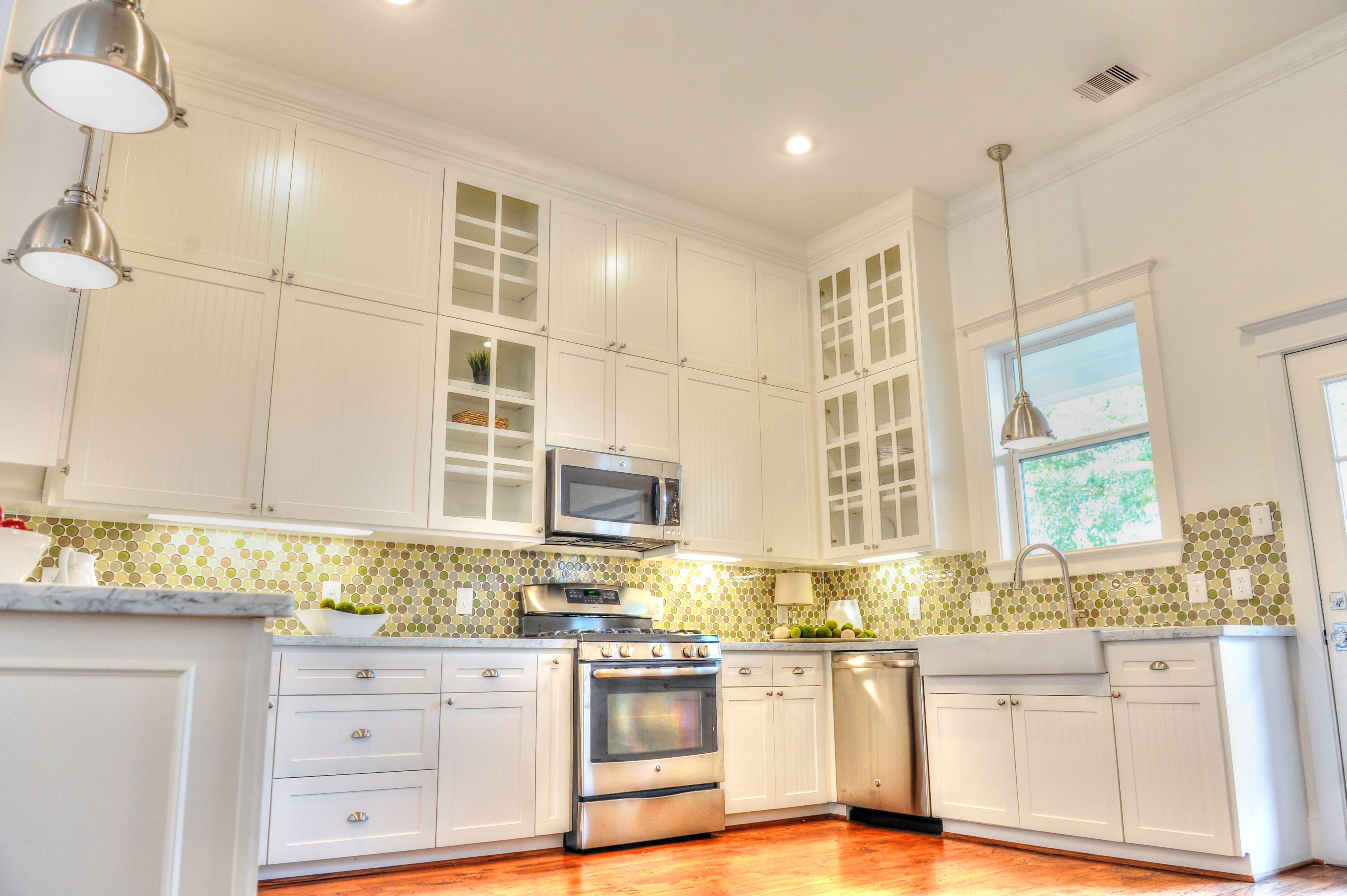 Modern Kitchen Cabinets Houston Heights Bungalows