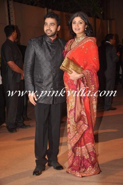 Shilpa Shetty Raj Kundra And Shamita Shetty At Honey Bhagnanis