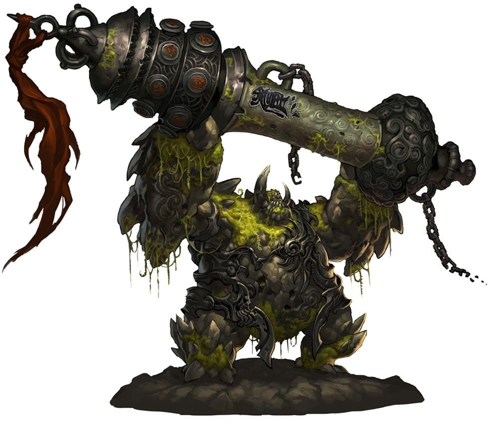 Type: Earth Media: Blade and Soul Hey look, it's the golem from the Korean MMO…