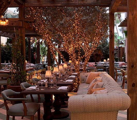 Ralph Lauren Empeoress | The Soho House Miami .....lovely Twinkling Lights