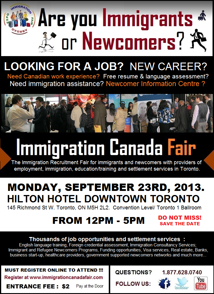 Are You New To Canada Are Your Landed Immigrant Looking For A