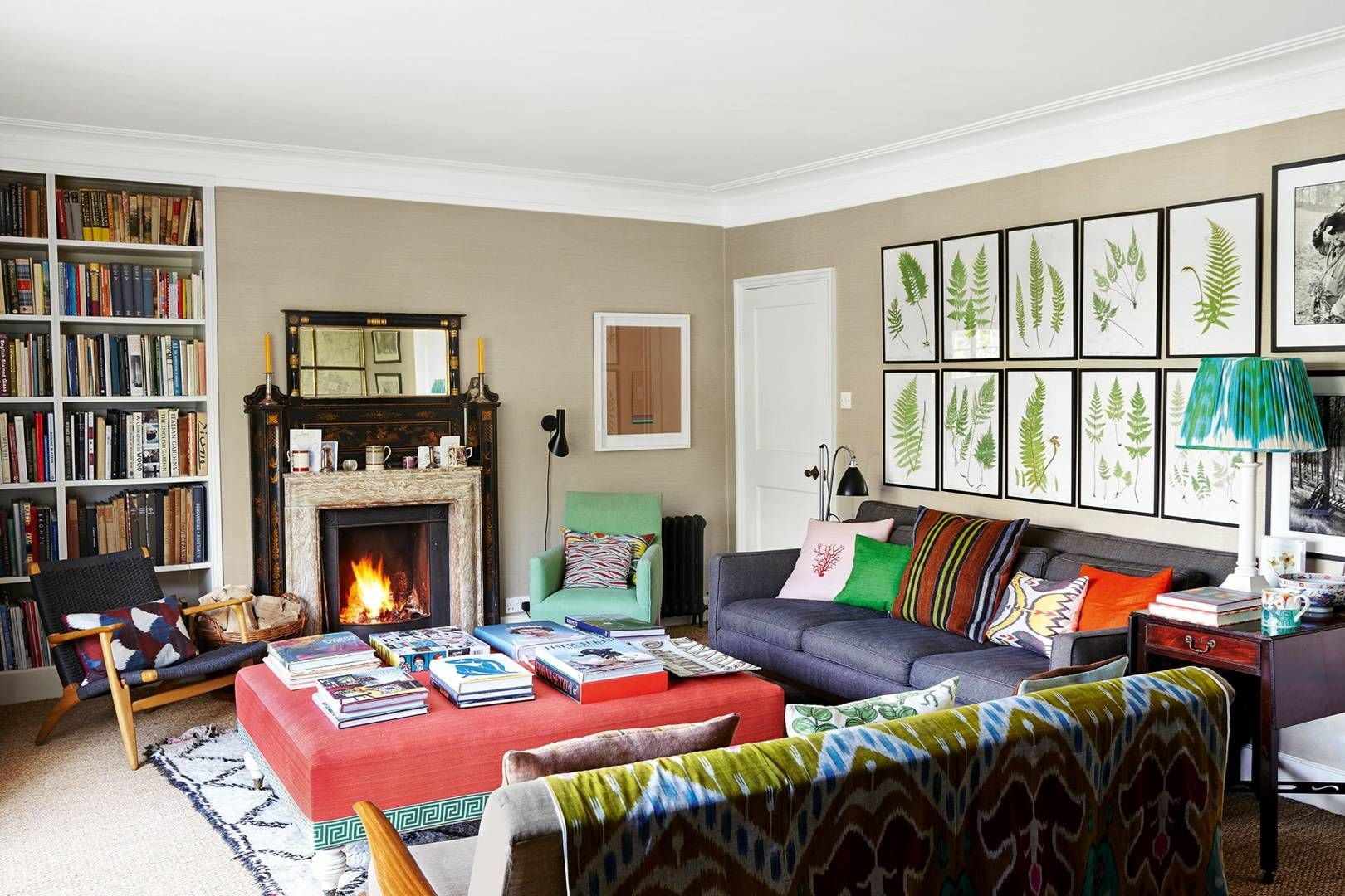 Ben Pentreath S Bloomsbury Flat House Styles Colorful