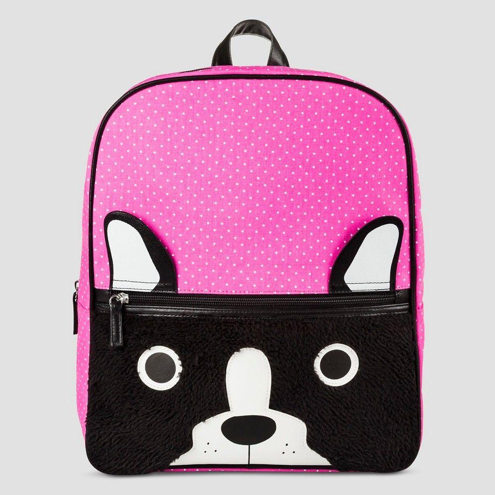Girls' Backpack Handbags Cat & Jack -Pink Dogs, Pink