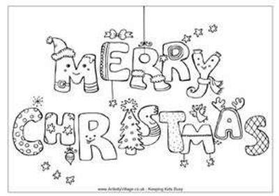 santa coloring pages for christmas printable. christmas coloring ...