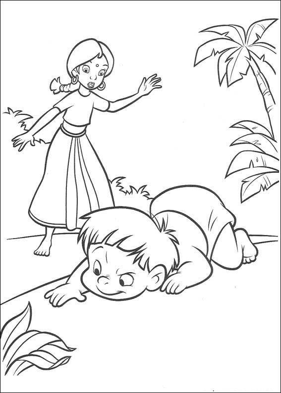 Dibujos para Colorear El Libro de la Selva 41 | Coloring Pages ...